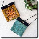 モン族刺繍のポシェット